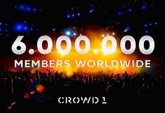 Crowd1 has over 6 million members worldwide, they can't all be wrong