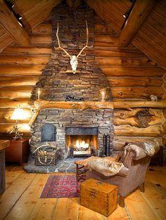 sheep mtn fireplace