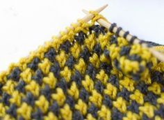 houndstooth knitting instructions