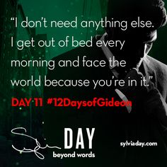 On the eleventh day of Gideon my lover said to me…#12DaysofGideon