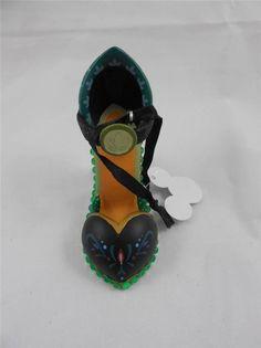 Disney Frozen Anna Runway Shoe Christmas Ornament NWT  | eBay