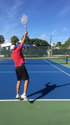 What is the ideal contact point for hitting a serve? What is promotion and how d. What is the ideal contact point for hitting a serve? What is promotion and how do I learn to utilize it when I serve Tennis Rules, Tennis Tips, Tennis Gear, How To Play Tennis, Tennis Serve, Tennis Lessons, Tennis Party, Tennis Equipment, Tennis Workout