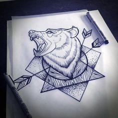 Tattoo Bear Más
