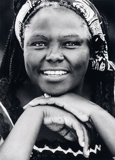 Wangari Maathai 1940-2011 - A famous environmentalist from Kenya. First African woman to win the Nobel Peace Prize. She's involved in organizations such as the Red Cross Society, United Nations Environment Programme, and National Council of Women of Kenya.  The Green Belt Movement is to preserve native plant species by creating nurseries.