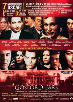 86 Gosford Park Ideas Park Robert Altman Kristin Scott