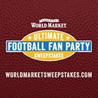 I just entered Cost Plus World Market's Ultimate Football Fan Party Sweepstakes! Snacks + $2,000 World Market gift card! Ends 1/29/16. Enter now! WWW.WORLDMARKETSWEEPSTAKES.COM