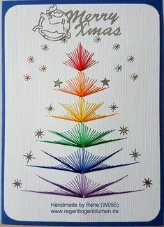Вишиті листівки до Різдва | Ідеї декору