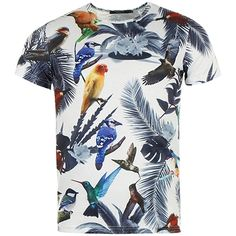 Tee Shirt John H T9069 Blanc - LaBoutiqueOfficielle.com