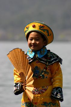 Chinese boy, the little emperor