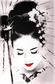 watercolor geisha - Google Search