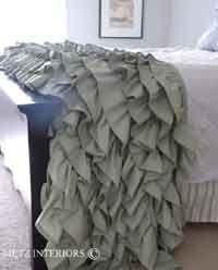 Ruffled Throw Sewing Tutorial