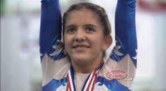 13-Year Old Gymnast: Fearless ... and Legally Blind
