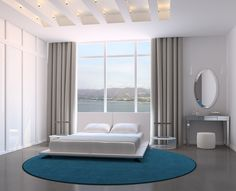 Bedroom Ideas: Curtain Track At Your Modern Bathroom The Common Curtain Tracks Design Can Be Found In The Form Of The Straight Track And Adding Beautiful The Room from The Important Function of the Curtain Tracks in Curtain Composition