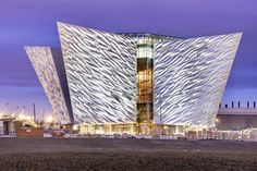 The city of Belfast has opened a 14 million square meter Titanic-themed visitor center.