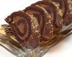 World Famous Chocolate Cake Mousse Rolls Passover