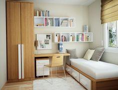 Shelving Ideas for Small Spaces Design With Cabinet