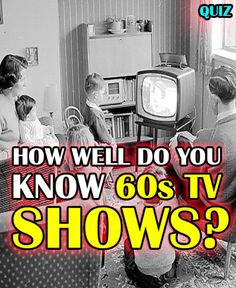 I Got 60s TV Master!! From Mr. Ed to Gilligan, you are truly a student of popular 60s television! You probably remember cramping around your old big-box TV with the family, TV dinners in hand, and being blown away by the new generation of TV shows. These were TV's beginnings. There was never anything like 60s TV before, and the 60s were the beginning of the TV as we know it today.