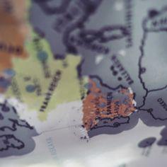 Die Scratch Map rückt mal wieder in den Fokus: Land 12 wird von der Europakarte gekratzt : España