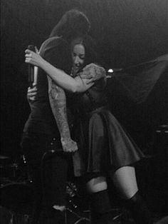 Chris Motionless & Ash Costello