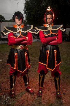 Zuko and Azula, Fire Siblings from Avatar: The Last Airbender #cosplay #anime