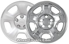 "Jeep Liberty Chrome Wheel Skins / Hubcaps / Wheel Covers 16"" 9040 2002 2003 2004 2005 2006 2007 SET OF 4  #Hubcaps #WheelCovers"