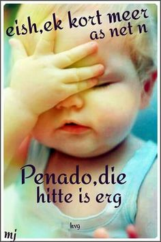 Eish it's to hot for an penado the hotness is erg Faith Quotes, Bible Quotes, Cute Quotes, Funny Quotes, Qoutes, African Jokes, Afrikaanse Quotes, Funny Greetings, Happy Birthday Images