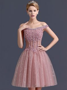 Image in Dresses & Gowns collection by 𝗦𝘂𝗻𝘀𝗵𝗶𝗻𝗲 Holiday Formal Dresses, Semi Formal Dresses, Cheap Cocktail Dresses, Formal Cocktail Dress, Pink Party Dresses, Dresses Dresses, 1920s Dress, Luxury Dress, Stylish Dresses