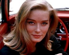 Bond girl, Tilly Masterson played by Tania Mallet in Goldfinger.