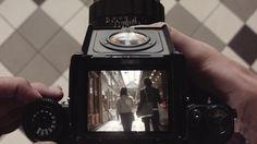 Paris Captured Through the Viewfinder of an Old Pentax 67