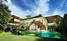 Modern Singapore oasis embracing nature: Willow House