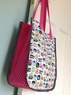 My finished Tote bag