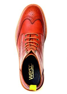 Sale → Footwear → Bo Brogue boot mid top Date - WeSC Webshop -