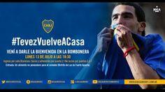 Carlos Tevez y su soñado retorno a Boca Juniors. July 12, 2015.