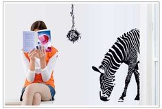 OneHouse Zebra Lower Head Wall Decals -- Check out the image by visiting the link.