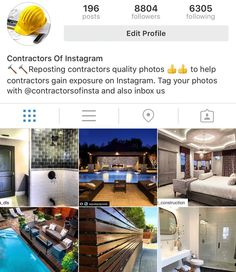 Interior designers of Insta on Instagram: Follow the growing community of contractors...