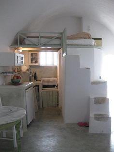 Inside the house. — at Kasteli Emporio, Santorini, Greece.