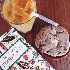 #EBfavorite #coffee of choice for our writer @carolange13? @hungryghost with a side of Jane Austen. What's your favorite #Brooklyn based coffee shop? Tag it with #EBfavorite to cast your vote. We're keeping count #EBdailypic