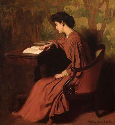 THOMAS ANSHUTZ (1851-1912)