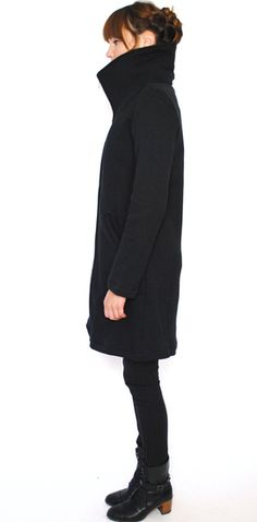 I need this coat more than anything. Cowl neck please! Lennon Coat by Curator