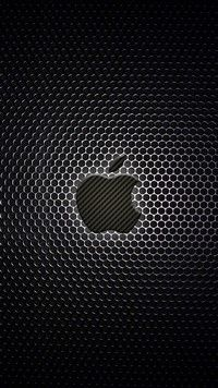 iPhone 6S wallpapers Carbon center