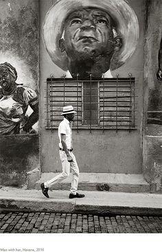 Kristoffer Albrecht, Man with Hat, Havana, Cuba, 2016