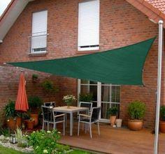 New 10ft Sun Sail Shade Triangle Outdoor Canopy Patio Garden Green