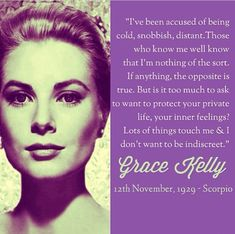 Not an ice queen.a true lady! Grace Kelly Quotes, Quotes To Live By, Me Quotes, Woman Quotes, Thats The Way, Queen Quotes, Quotable Quotes, Old Hollywood, Hollywood Quotes