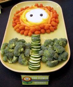 The best veggie platter I've seen!