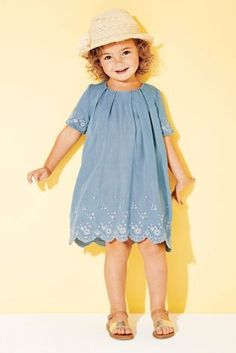 Buy Pale Blue Embroidered Dress (3mths-6yrs) online today at Next: United States of America