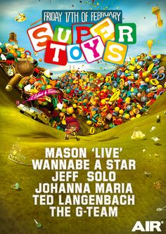 Supertoys - Mason (live), Wannabe A Star, Jeff Solo, Johanna Maria, Ted Langenbach, The g-team