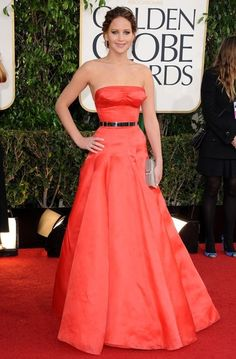 Christian Dior - Style Crush: Jennifer Lawrence on the Red Carpet - Photos