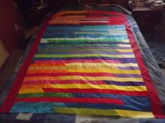 Lasagna Quilt Can make pieces with diagonal cuts instead of ... : lasagna quilt - Adamdwight.com