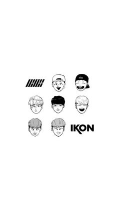 iKON Wallpaper Cr: ‪@HK2MR ‬ Yg Ikon, Ikon Kpop, Ikon Junhoe, Hanbin, Bling Bling, Ikon Member, Kpop Backgrounds, Ikon Wallpaper