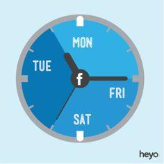 Facebook:los mejores momentos para publicar en Facebook según el sector. Registraté: www.belenruizbeato.com